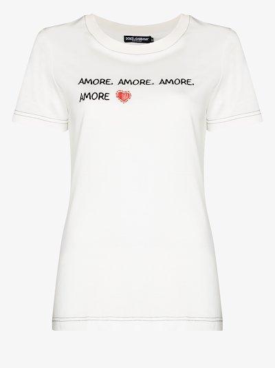 Amore print T-shirt