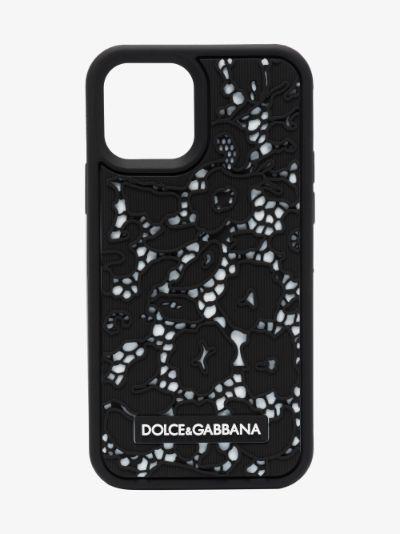 black lace effect iPhone 11 Pro case