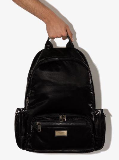 black nero sicilia DNA backpack