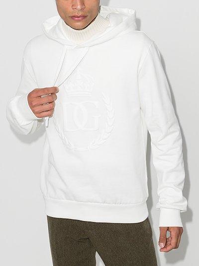 crown logo hoodie