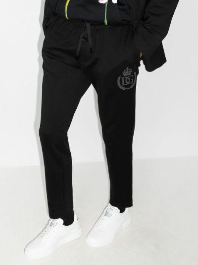 DG Crest print track pants