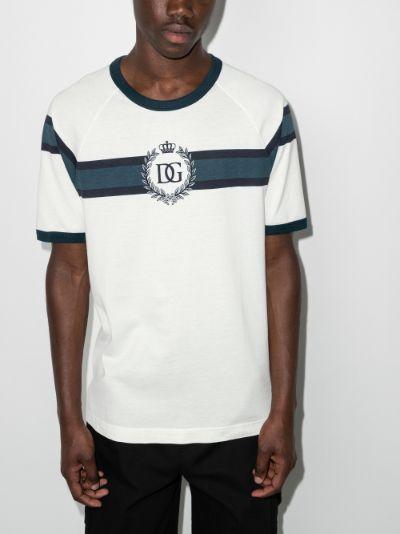 DG logo ringer T-shirt
