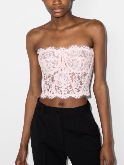 lace bustier