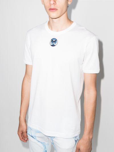 logo patch cotton T-shirt