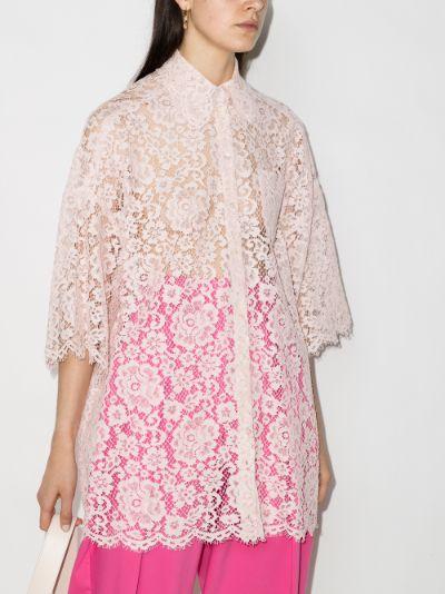 long lace shirt