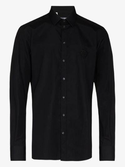 long-sleeve button-up shirt