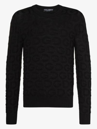 Silk Logo Sweater