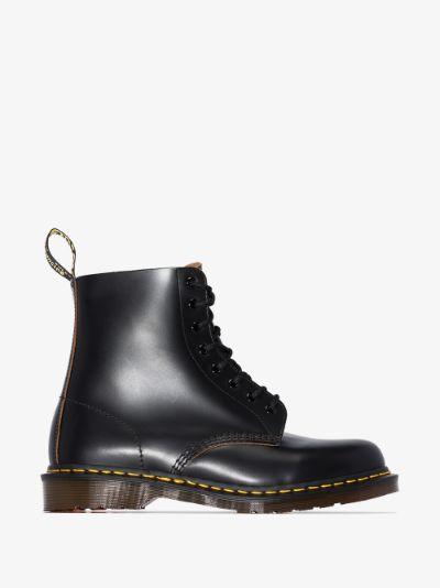 Black 1460 vintage leather boots
