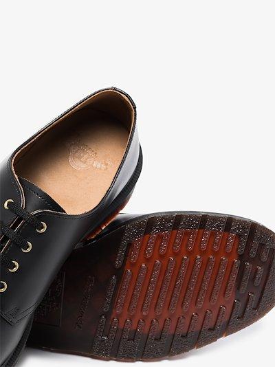 black 1461 Vintage leather Derby shoes