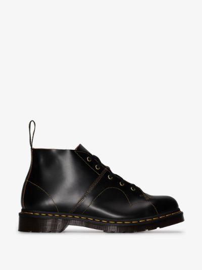 Black Church Monkey leather boots