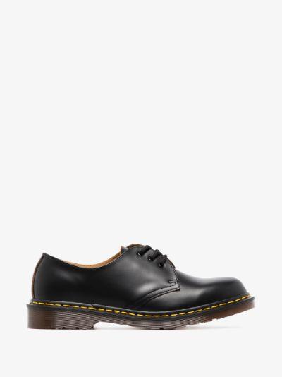black Vintage 1461 leather Derby shoes