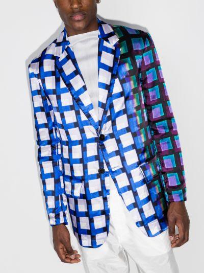 Berkleys Abstract Print Blazer