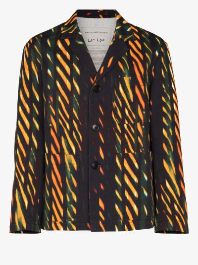 Blas printed twill jacket