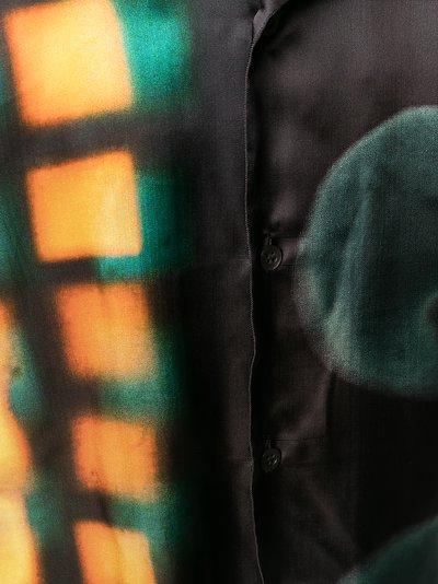 Carltone abstract print shirt