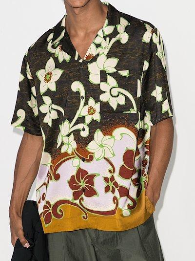 Carltone floral print shirt
