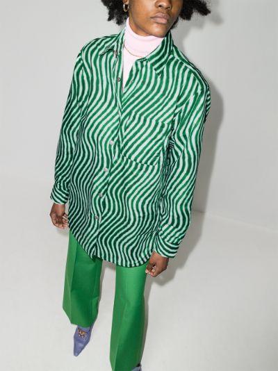 Carnella long sleeve cotton shirt