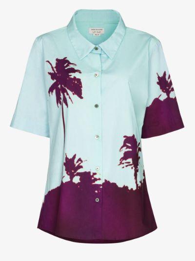 Cartley palm print shirt