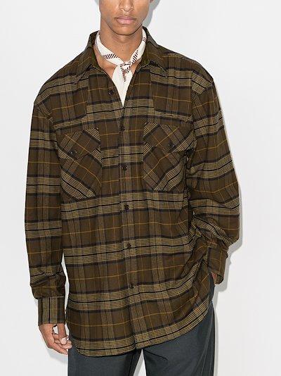 carwick oversized check shirt