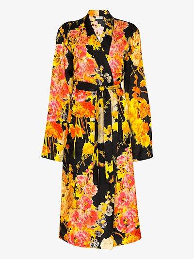 Charly floral print kimono coat