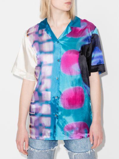 Clive printed boxy shirt