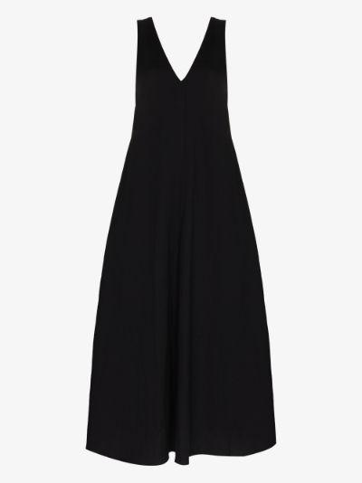 Dea V-neck maxi dress