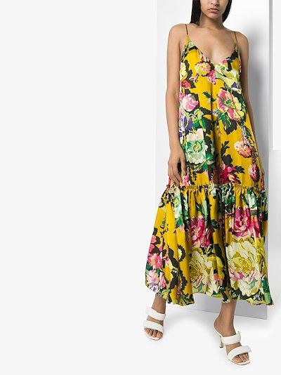 Diba floral print midi dress