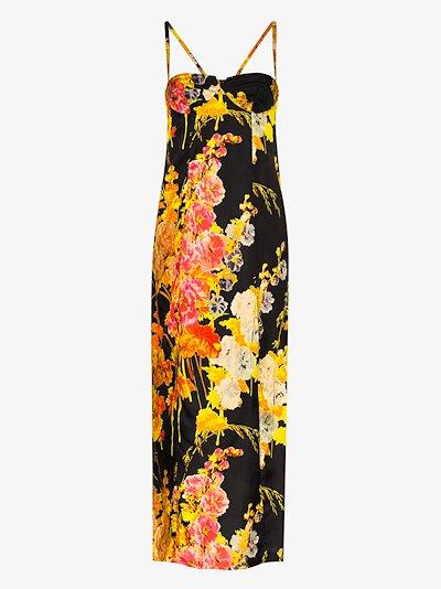 Dipsi floral print maxi dress