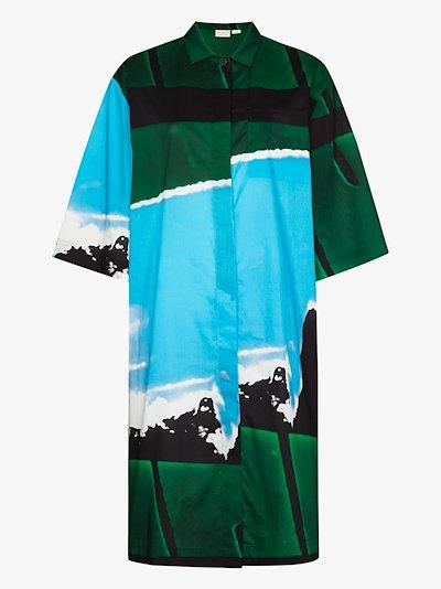 Dorali cotton shirt dress