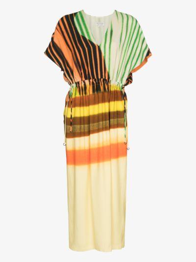 Dorias printed dress