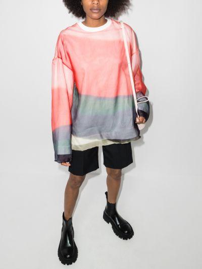 Hagland printed sweatshirt