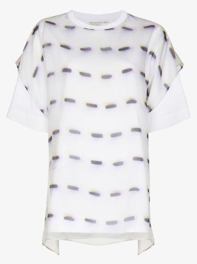 Hason layered T-shirt