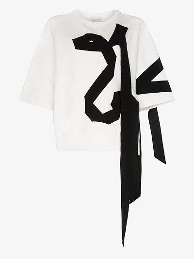 Helovi black ribbon T-shirt