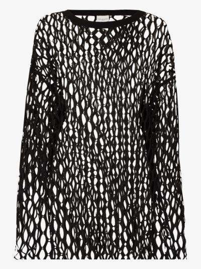 Henato mesh knit top