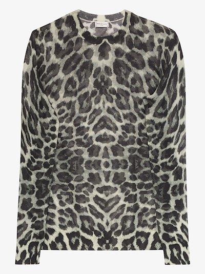 Jelle leopard print t-shirt