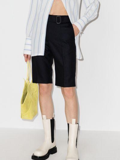 Palfora pinstripe wool shorts