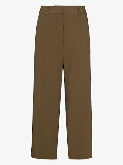 Poski wide leg wool culottes