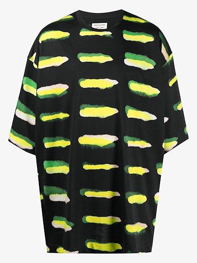 printed short-sleeved T-shirt