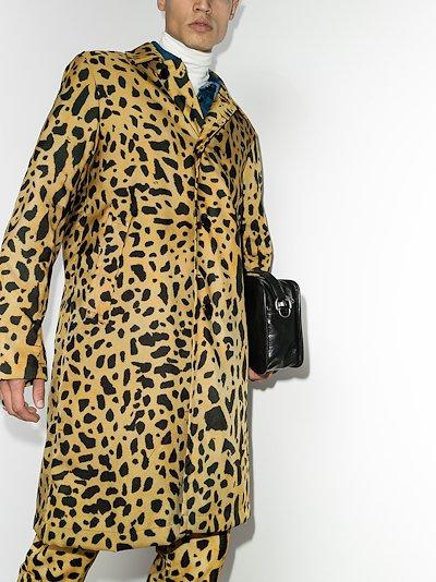 Roal leopard print coat
