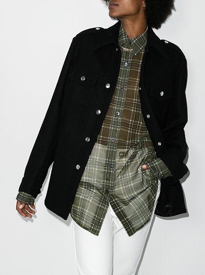 Valery wool military jacket