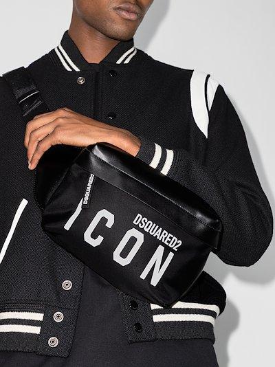 black Icon belt bag