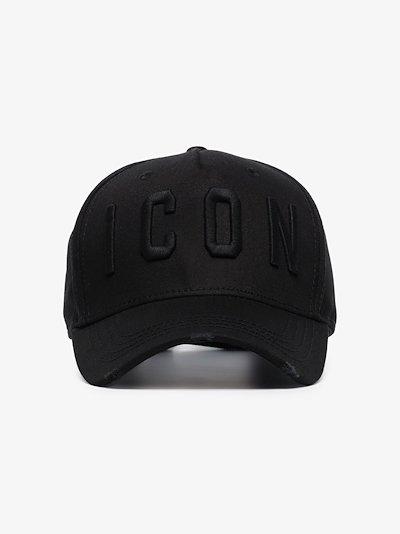 Black Icon logo baseball cap