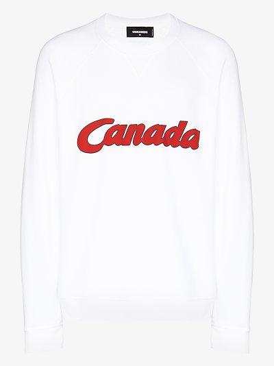 Canada print sweatshirt