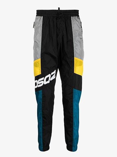 colour-block track pants