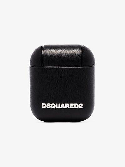 logo-print pouch