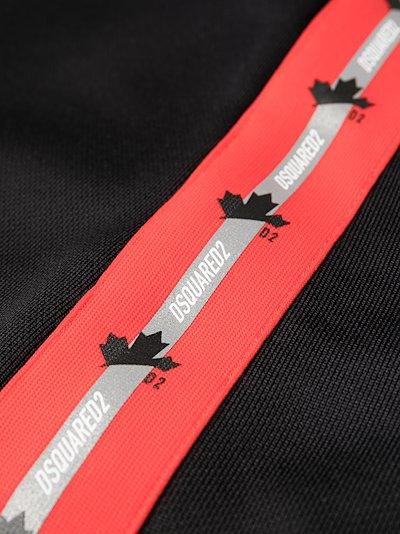 logo-tape track shorts