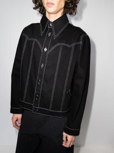 batwing denim jacket