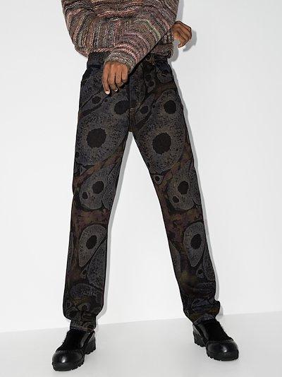 EL Graphic Print Jeans