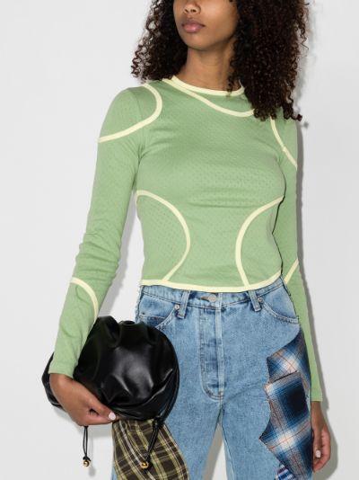 Surface layered T-shirt