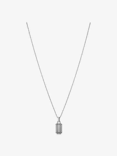 18K black gold Small Tokyo diamond necklace