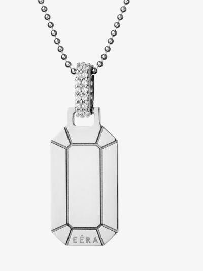 18K white gold Small Tokyo diamond necklace